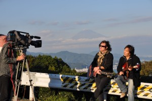 Shimizu Japan TV show shooting